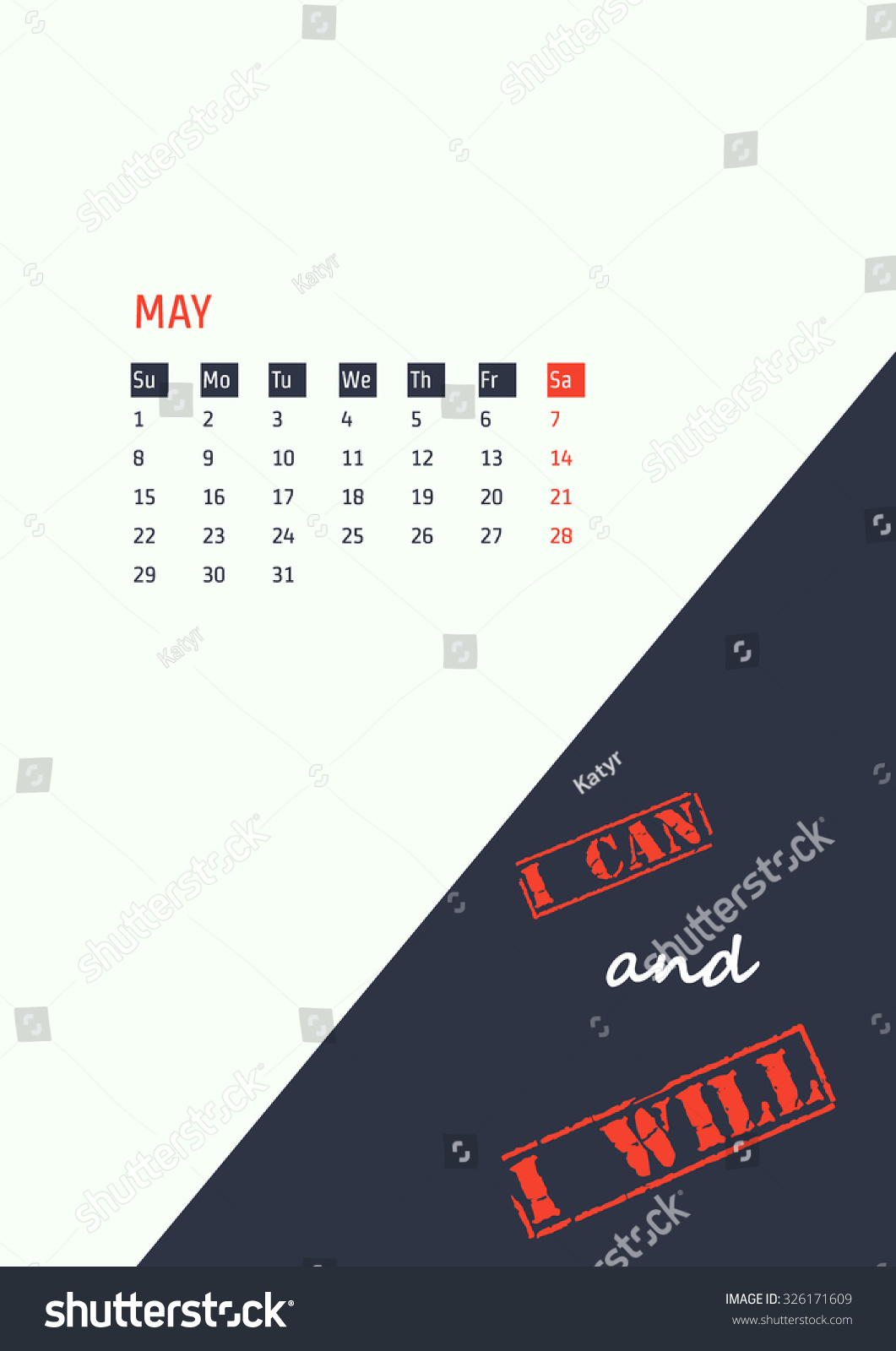 Unique Calendar Design Inspiration : Polygonal calendar vector download