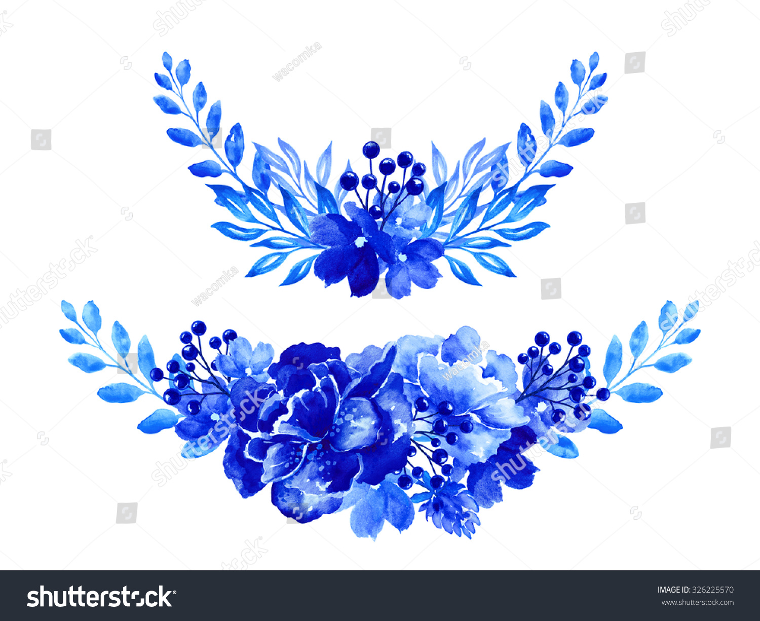 blue flower arrangement decorative floral design lager
