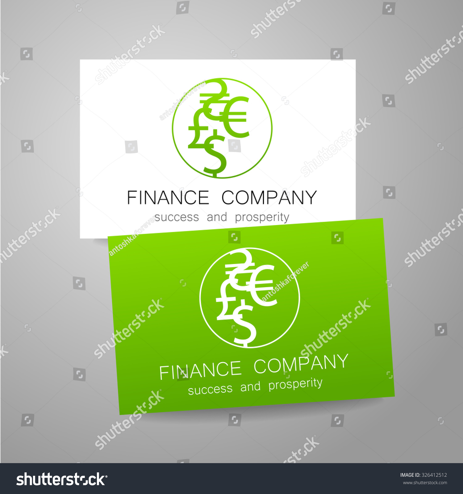 Financial company template logo sign money stock vector 326412512 sign of the money a symbol of the dollar biocorpaavc Images