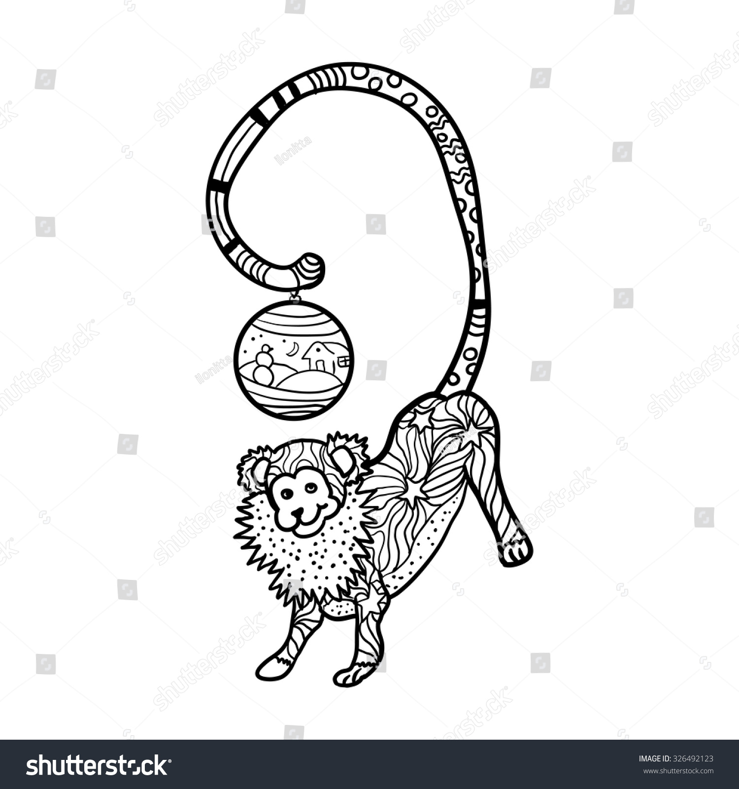 Stunning Coloring Book Monkey Ideas New Printable Coloring Pages