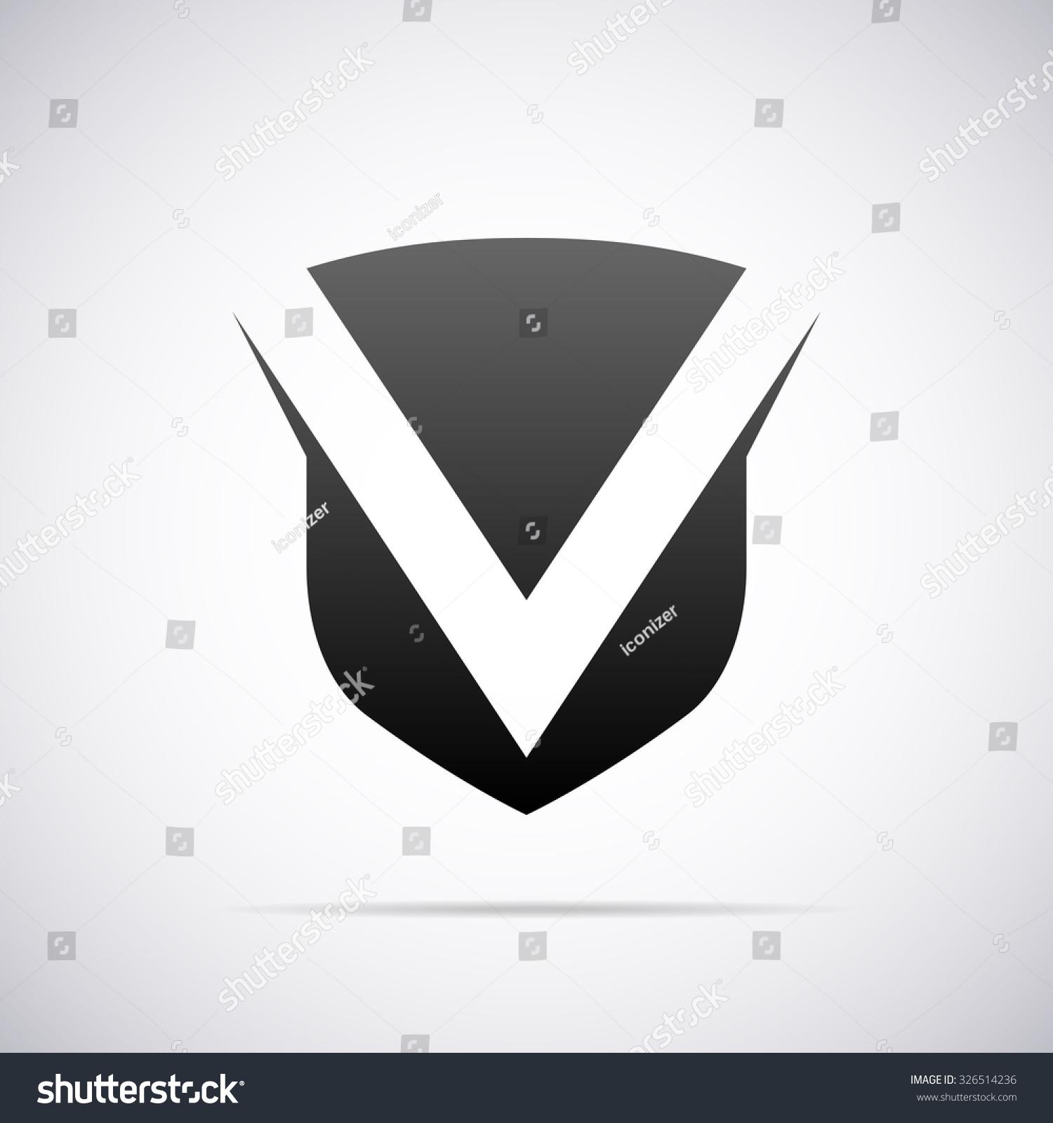 logo letter v design template のベクター画像素材 ロイヤリティ