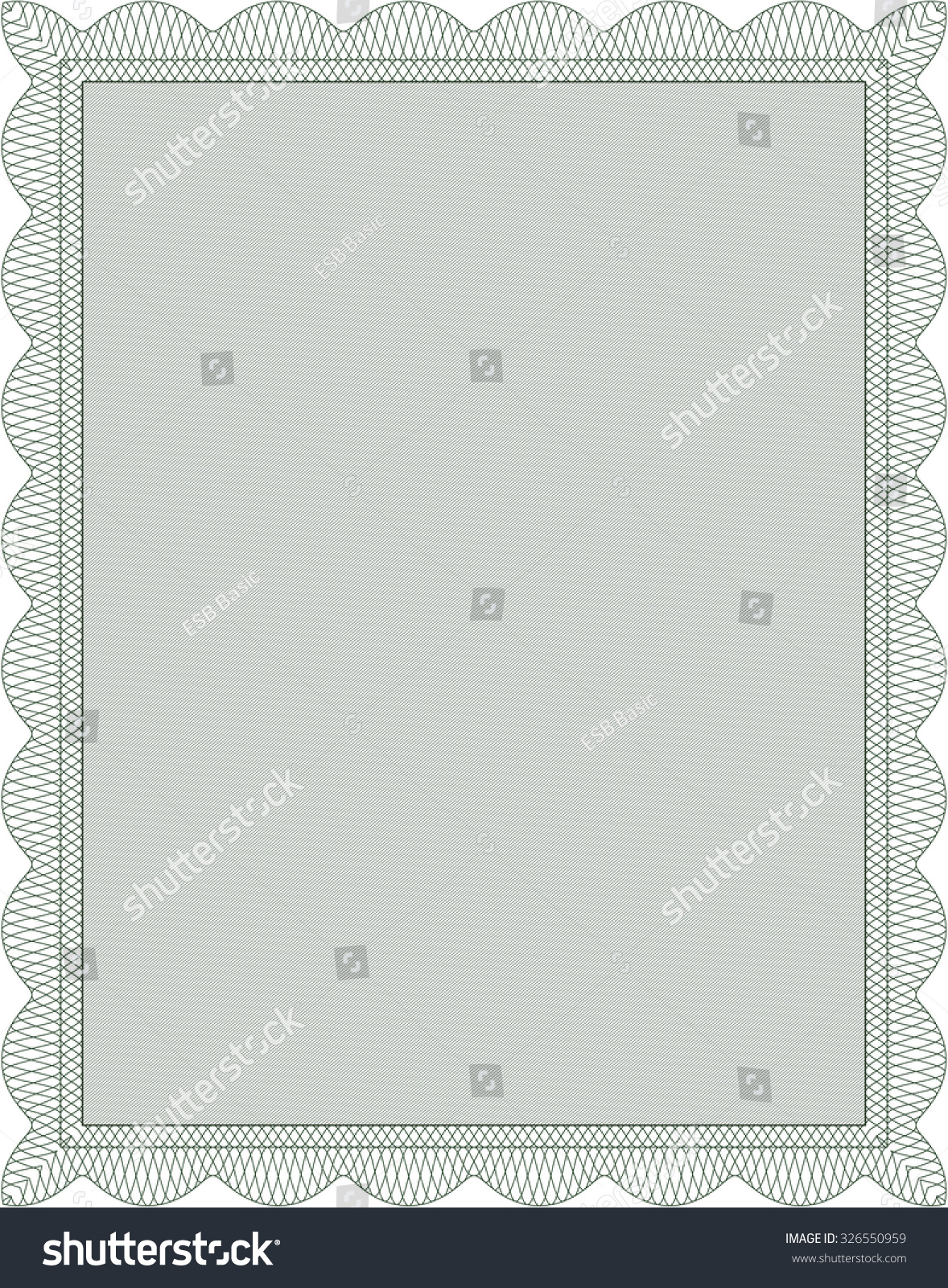 Stock share certificate template rent lined paper print out certificate quality certificate template report format template word stock vector diploma template or certificate template with yadclub Images