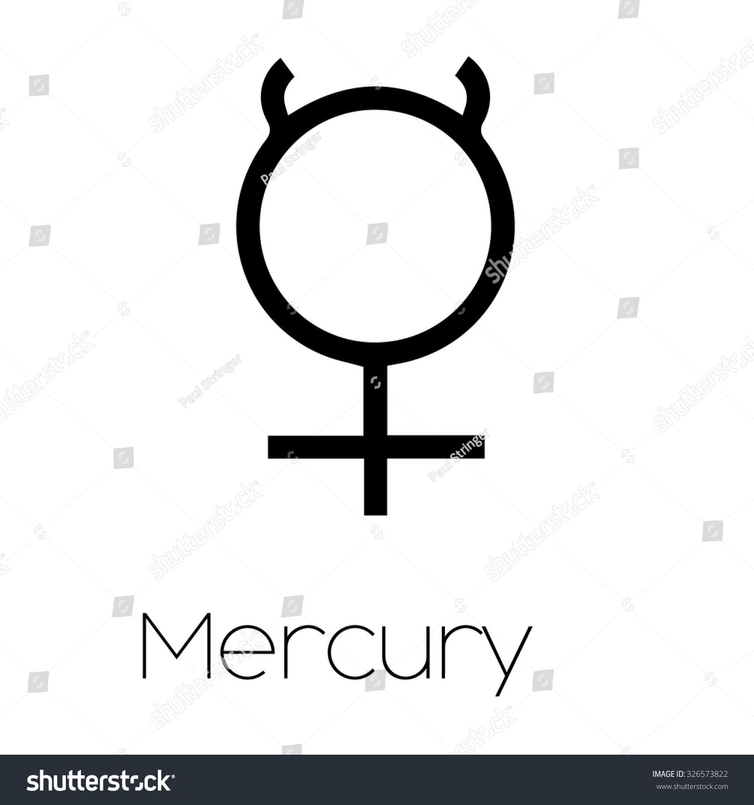 Illustrated planet symbols mercury stock illustration 326573822 illustrated planet symbols mercury buycottarizona Choice Image