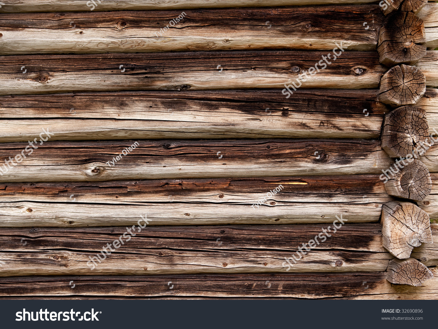 Log Cabin Wall Background  www.galleryhip.com - The ...