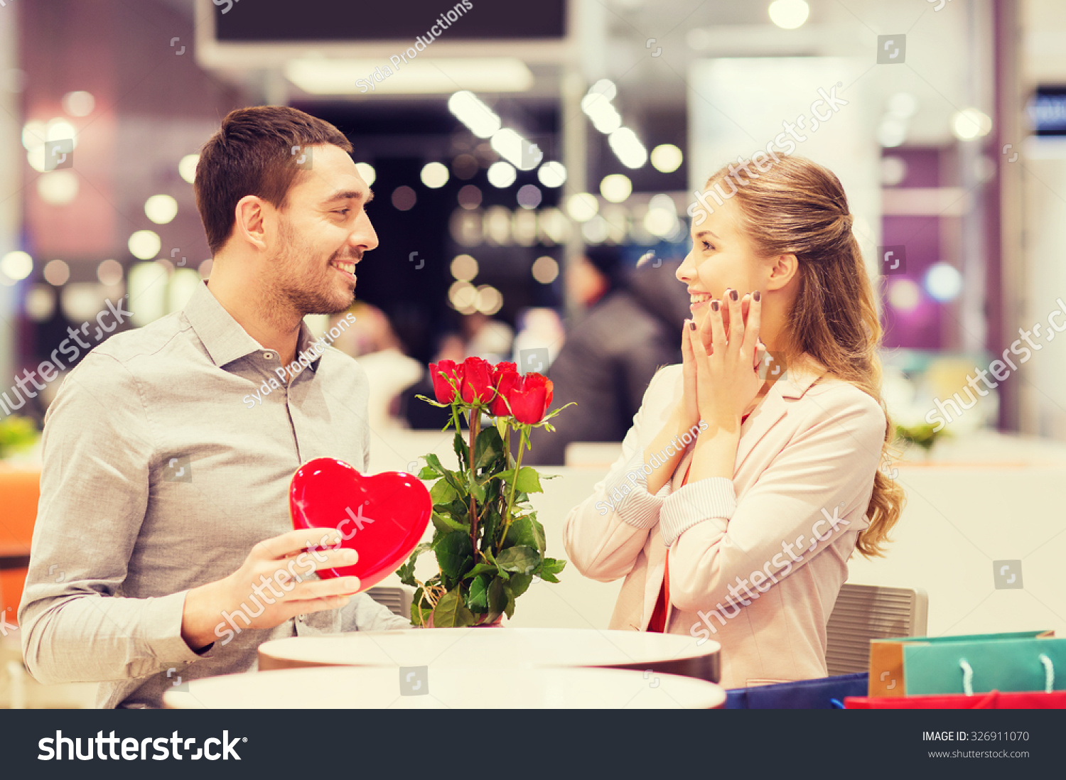 Love Romance Valentines Day Couple People Stock Photo