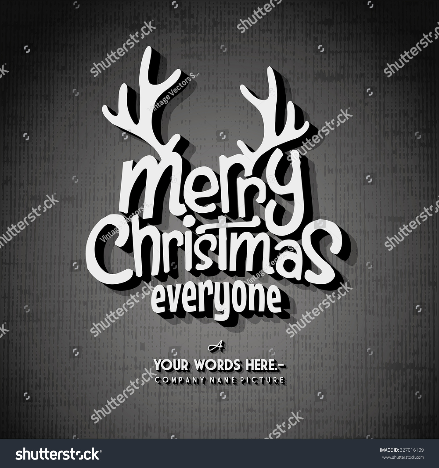 merry christmas end of letter