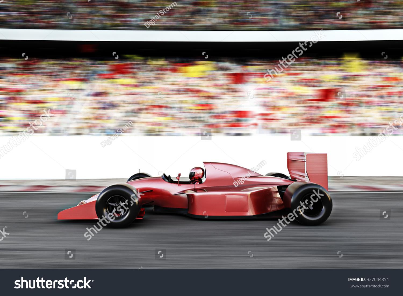 Race Car Side View Motor Sports Re...
