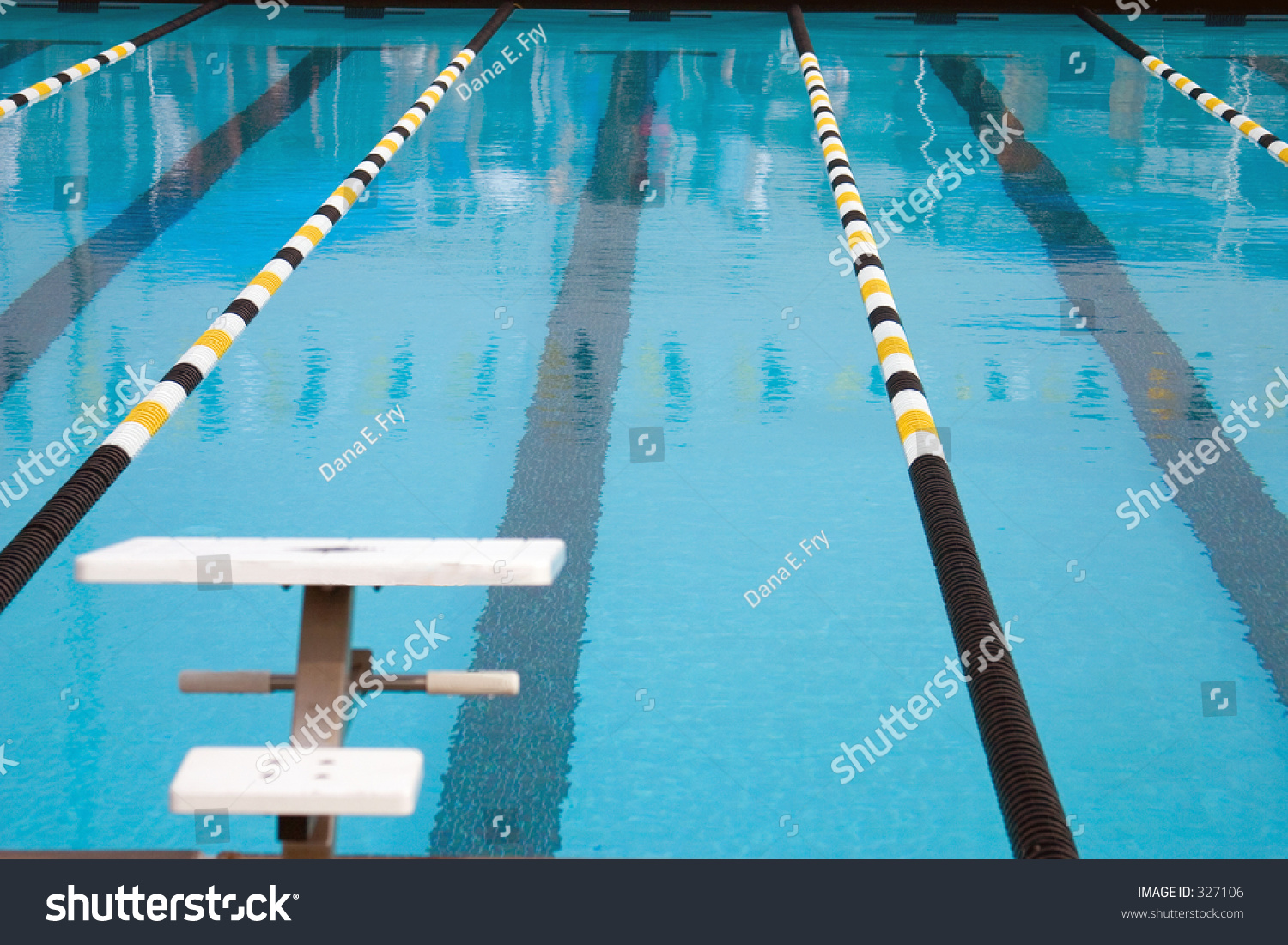 An olympic size swimming pool stock photo 327106 shutterstock for Olympic swimming pool pictures