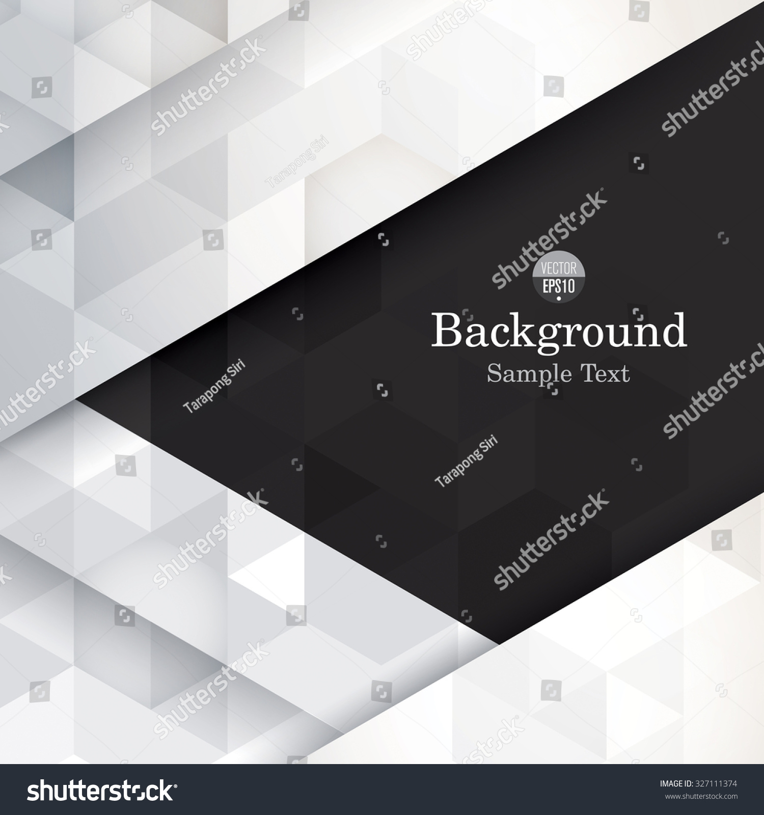 Black and white abstract background vector Can be used in cover design book design website background CD cover advertising