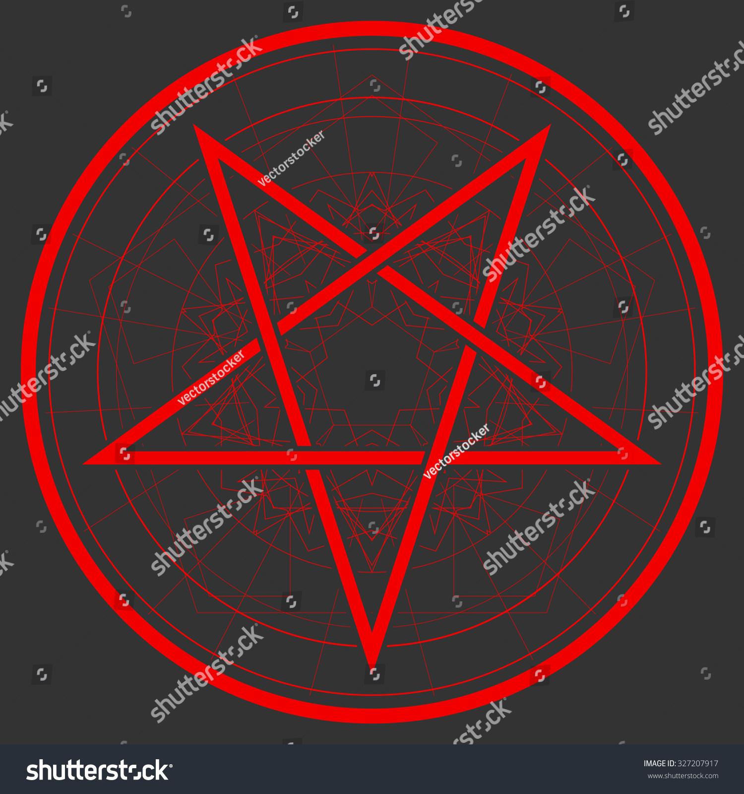 Baphomet star reversed pentagram satanic sign stock vector 327207917 baphomet star reversed pentagram satanic sign gothic style buycottarizona Image collections