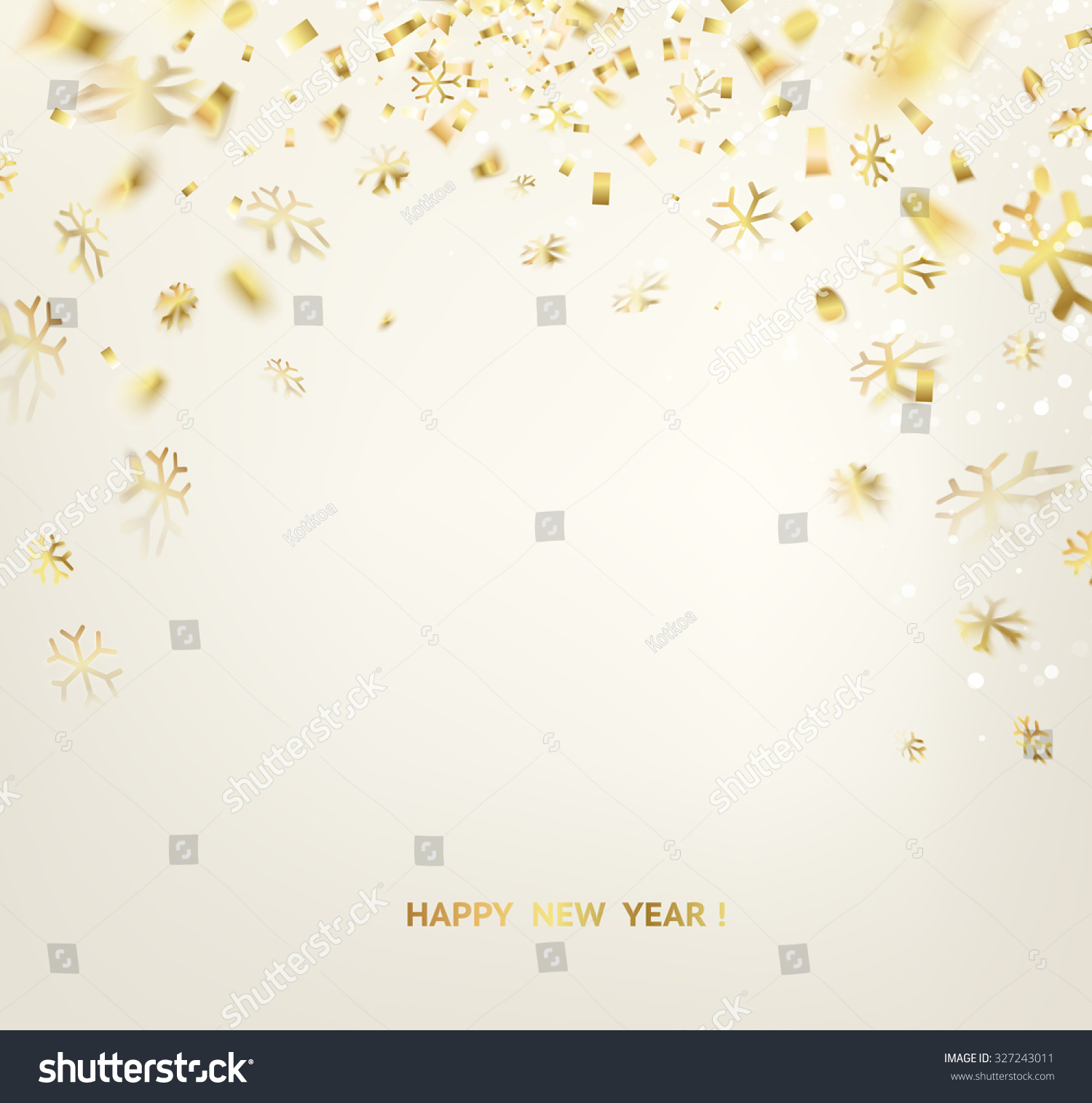 happy new year card template over stock vector royalty free