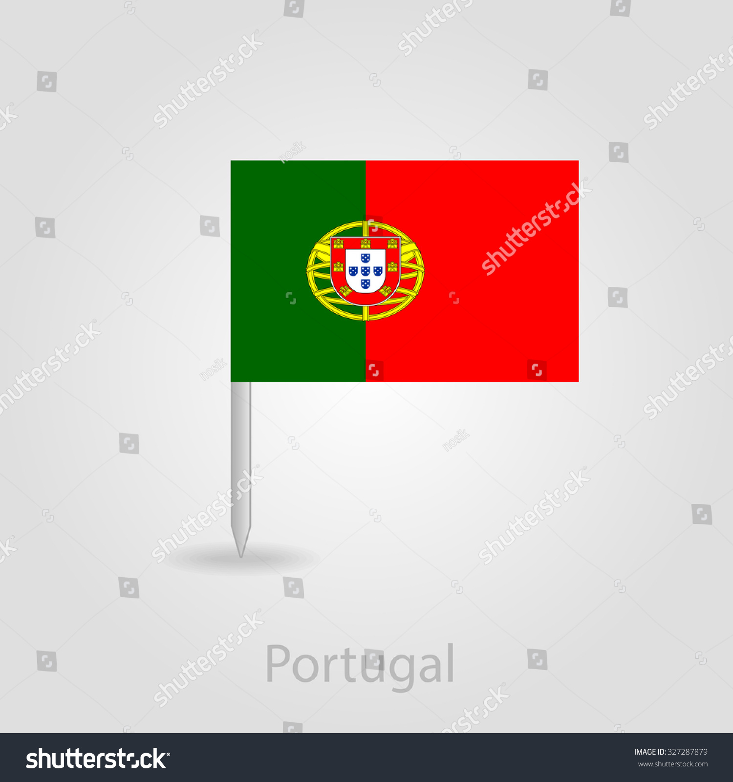Portugal Map Flag With Many Map Of Iwo Jima - Portugal map flag