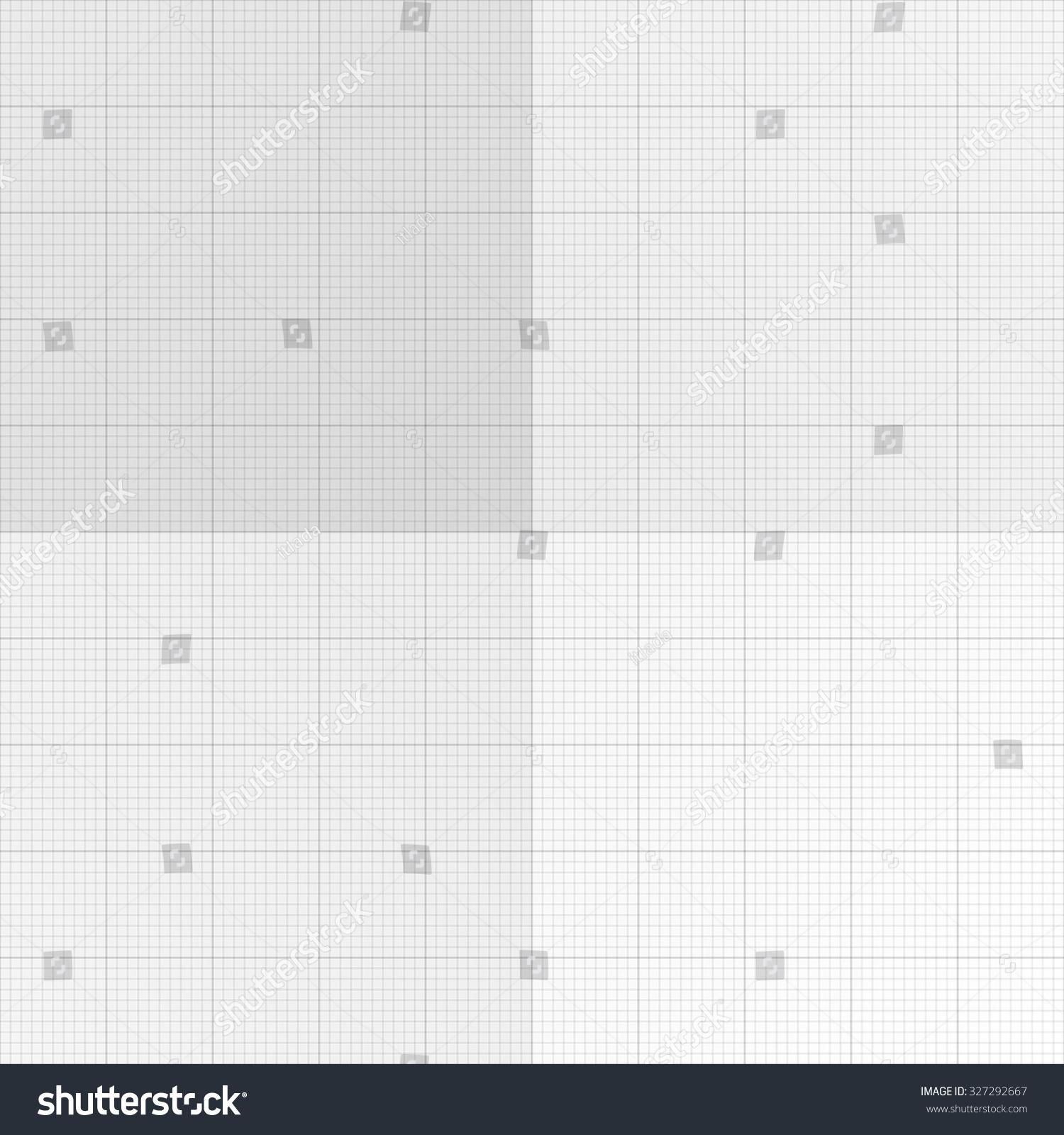 Xxl Millimeter Paper Graph Paper Plotting Stock Vector 327292667 ...