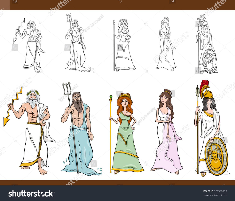 Mythology gods and goddesses