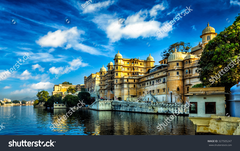 romantic india luxury tourism wallpaper panorama stock photo (edit