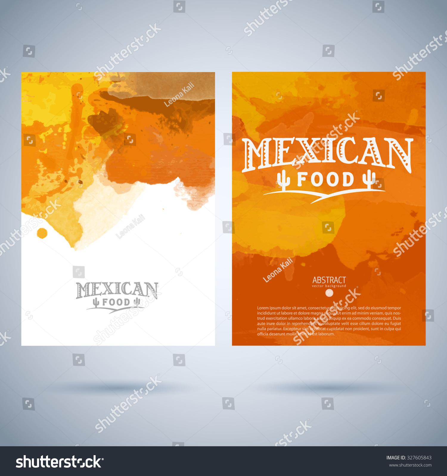 restaurant cafe vector menu cover template stock vector (royalty