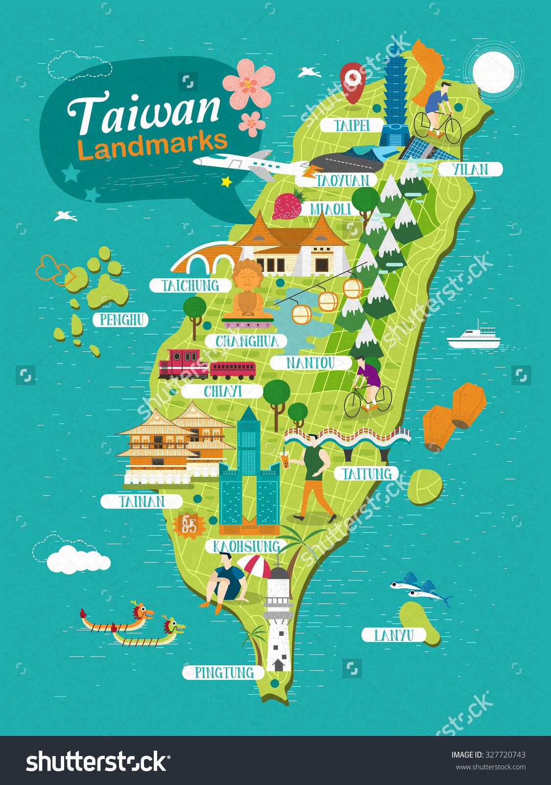 Taiwan Map Travel – Taiwan Map For Tourist