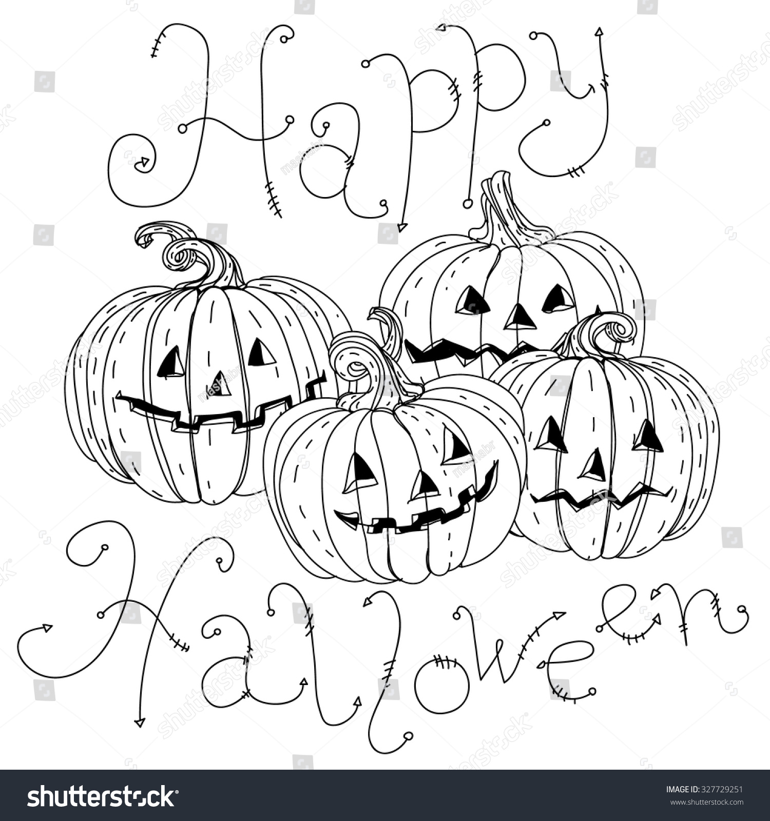 dress - Halloween Happy coloring banner pictures video