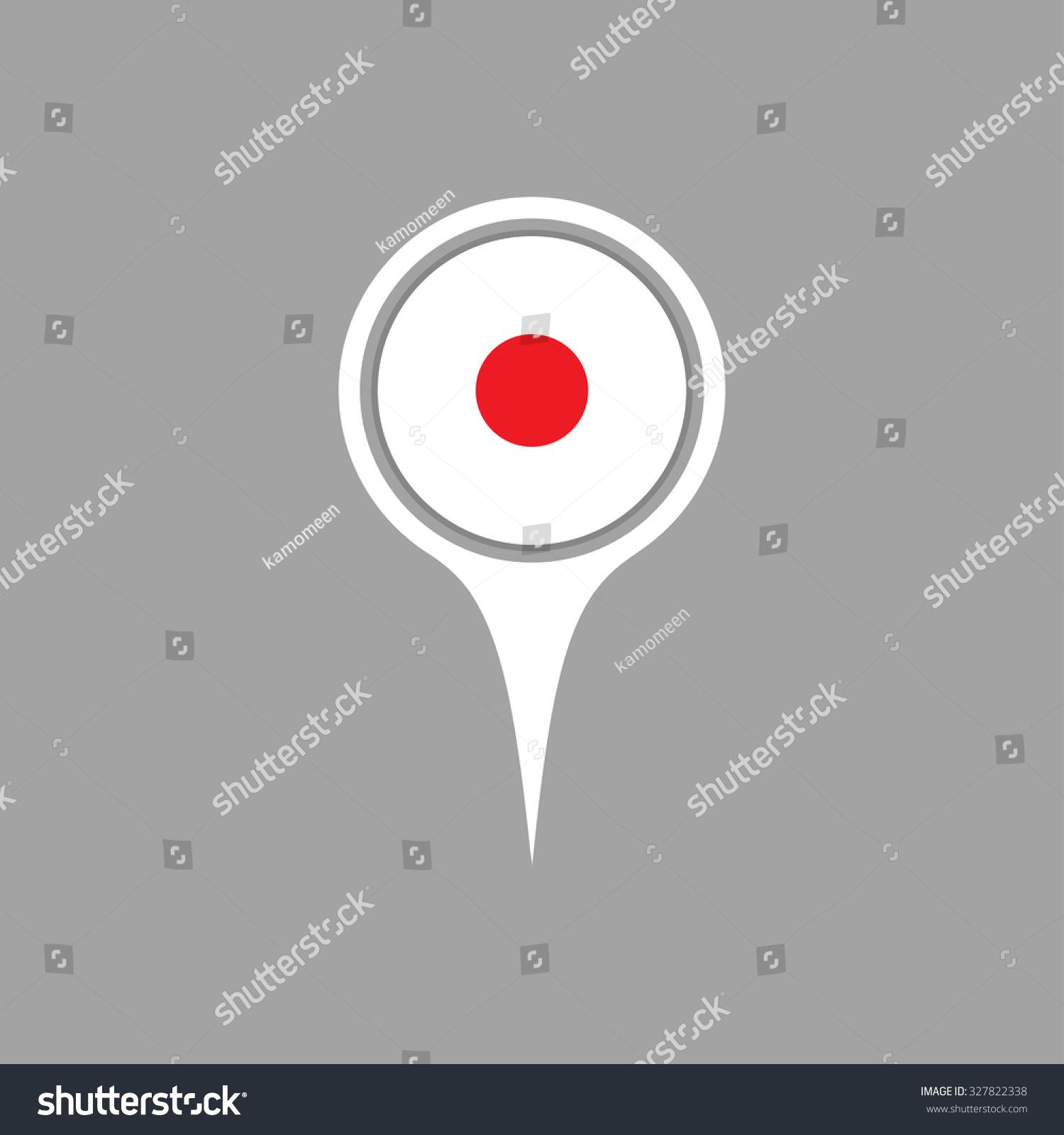 Japan Flagpin Stock-Vektorgrafik (Lizenzfrei) 327822338 – Shutterstock
