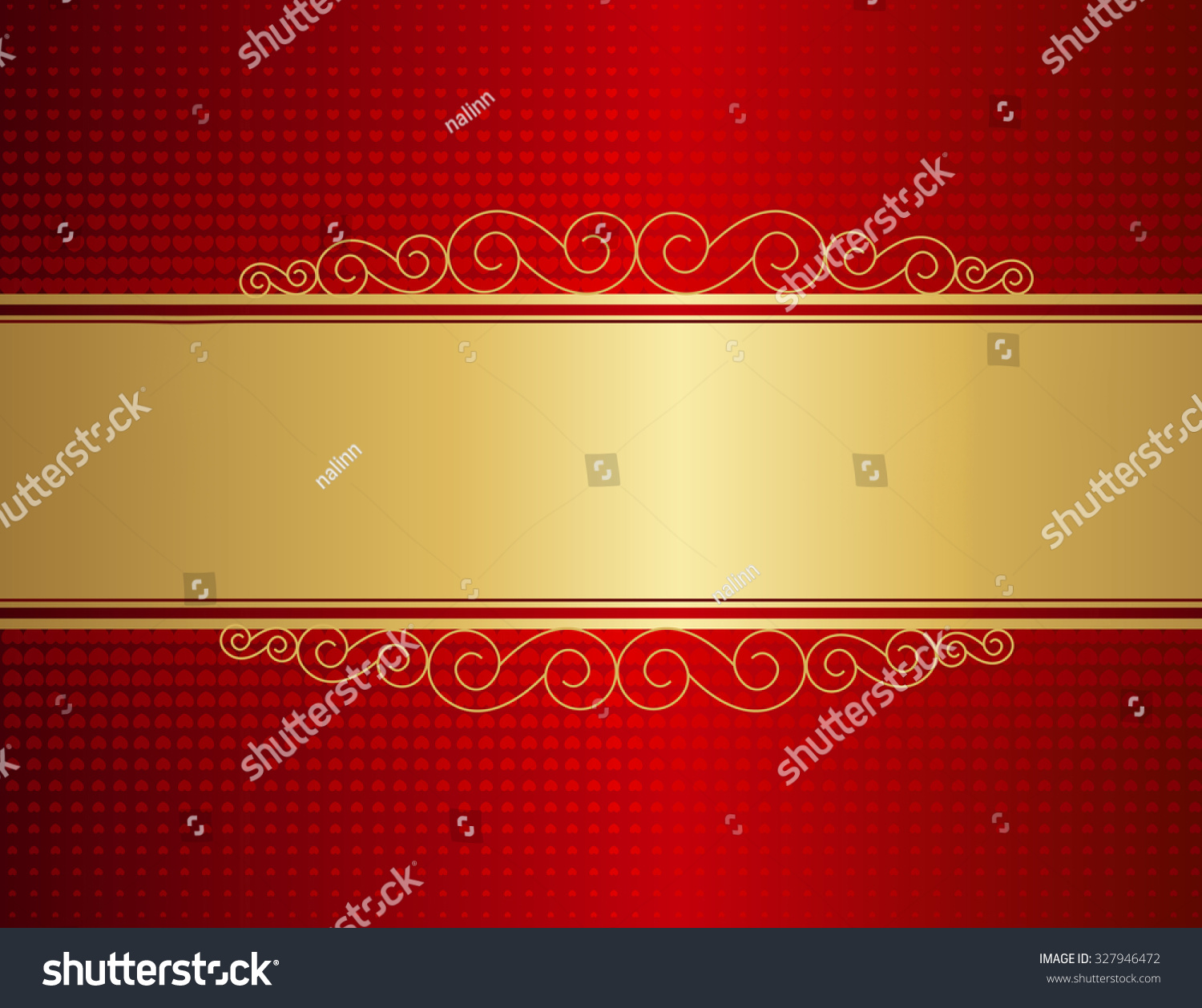 Elegant Wedding Invitation Anniversary Background Frame Stock ...