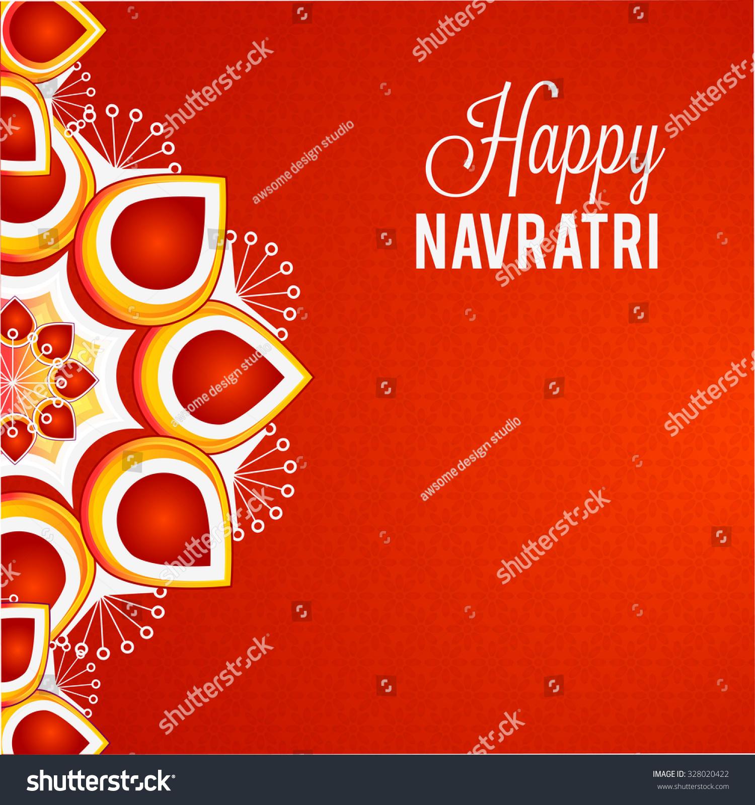 Vector illustration navratri happy diwali festival stock vector vector illustration navratri or happy diwali festival greeting card background kristyandbryce Choice Image
