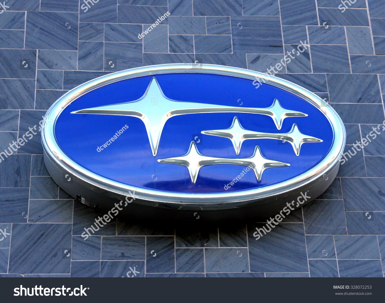 Spencer Wisconsin October 16 2015 Subaru Stock Photo Royalty Free