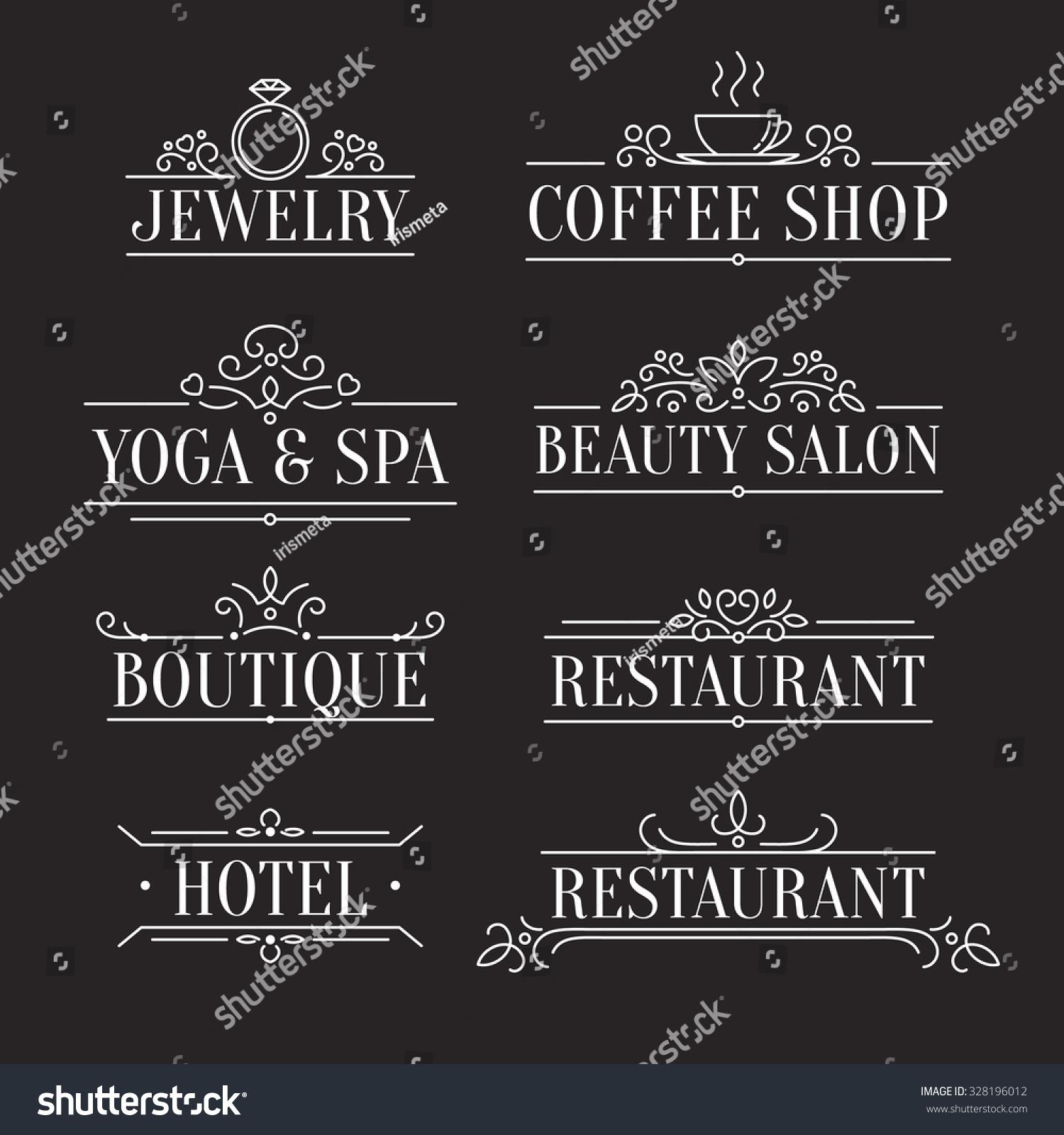 Image Gallery elegant signs