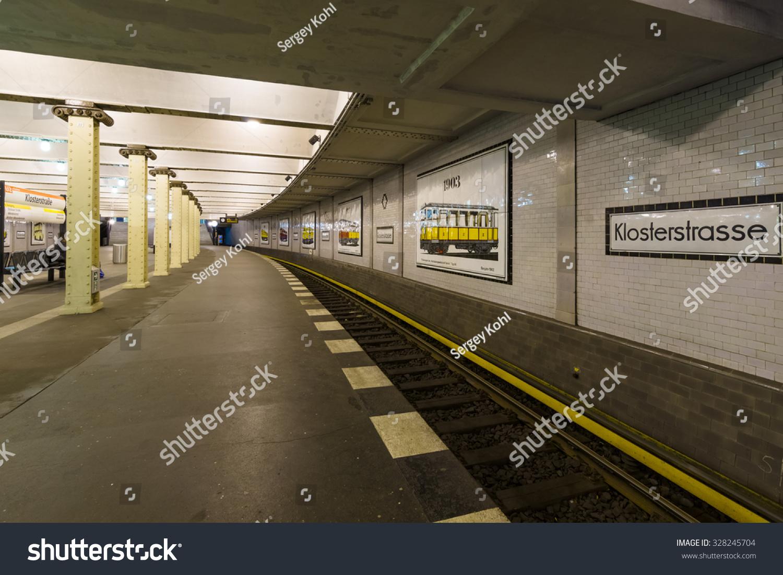 berlin germany october 13 2015 metro stock photo 328245704 shutterstock. Black Bedroom Furniture Sets. Home Design Ideas