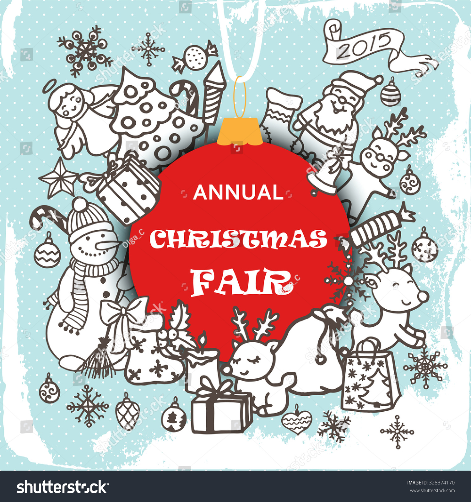 Christmas fair invitation card doodle xmas stock vector 328374170 christmas fair invitation card doodle xmas stock vector 328374170 shutterstock stopboris Images