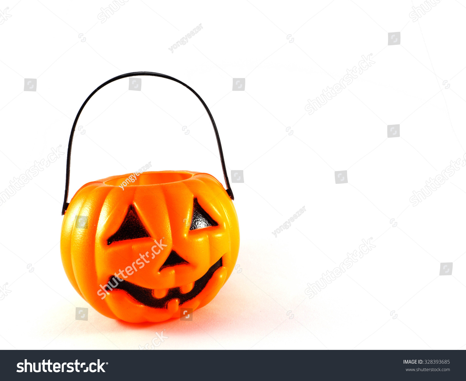 funny halloween pumpkin isolated on white stock photo edit now