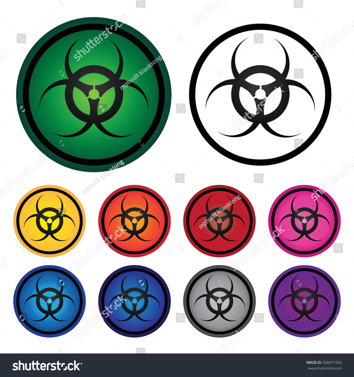 Danger biological hazard symbol set 2 stock illustration 328671926 danger biological hazard symbol set 2 biocorpaavc Images