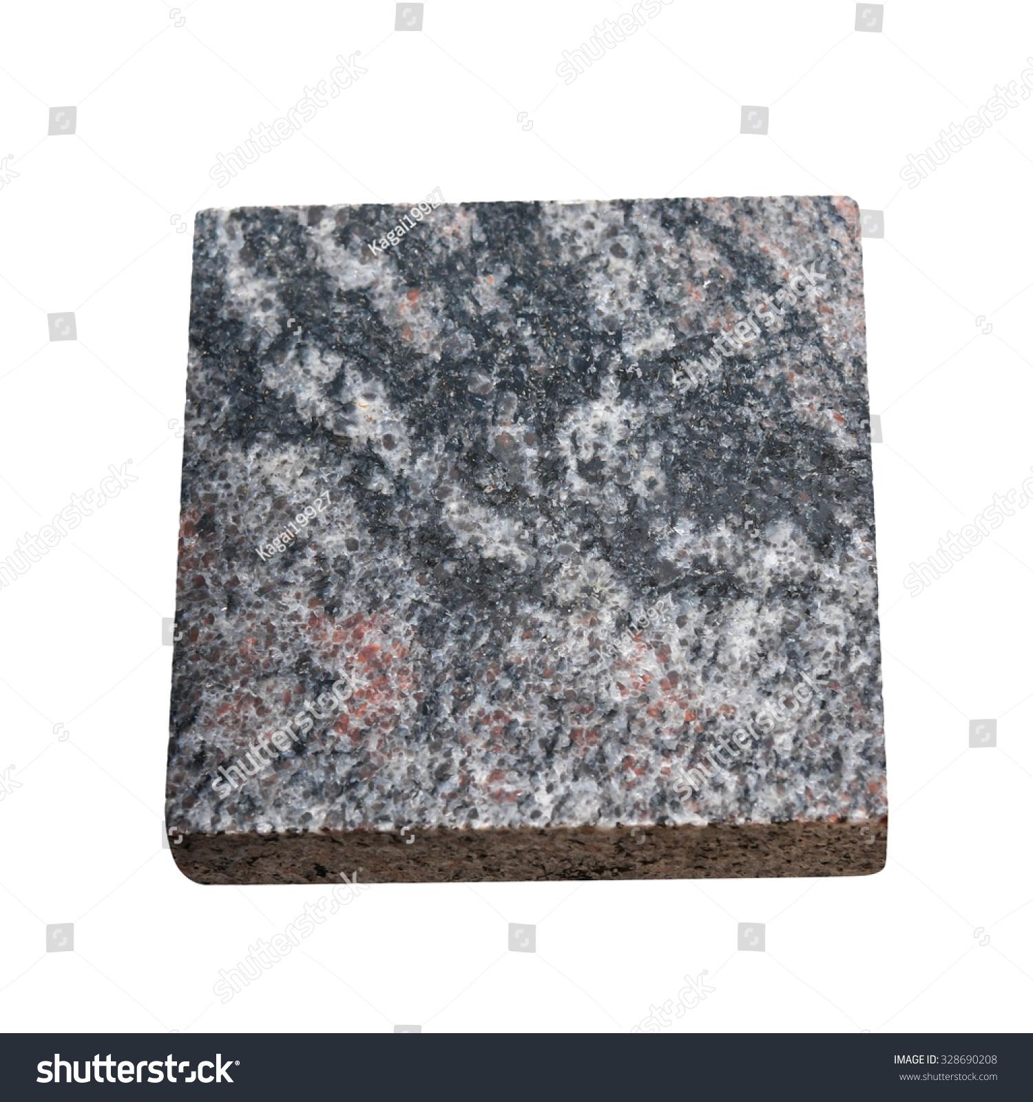 Marble Slab Design : Granite texture on white background sample stock photo