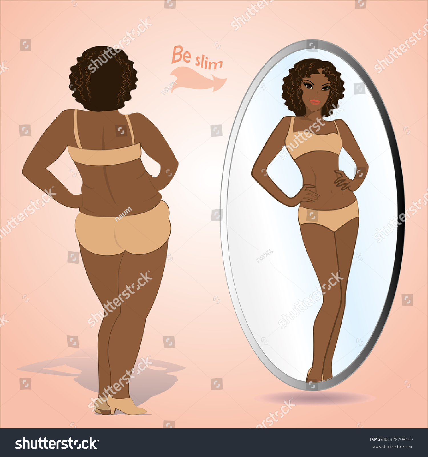 Woman fat pictures black It's on