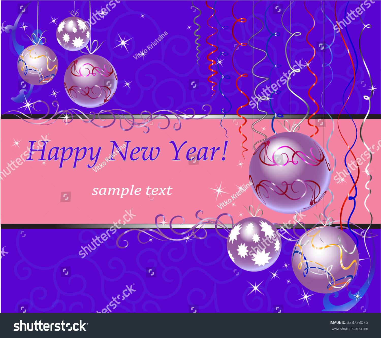 Family Holiday Winter December Joy Greetings Stock Vector 328738076