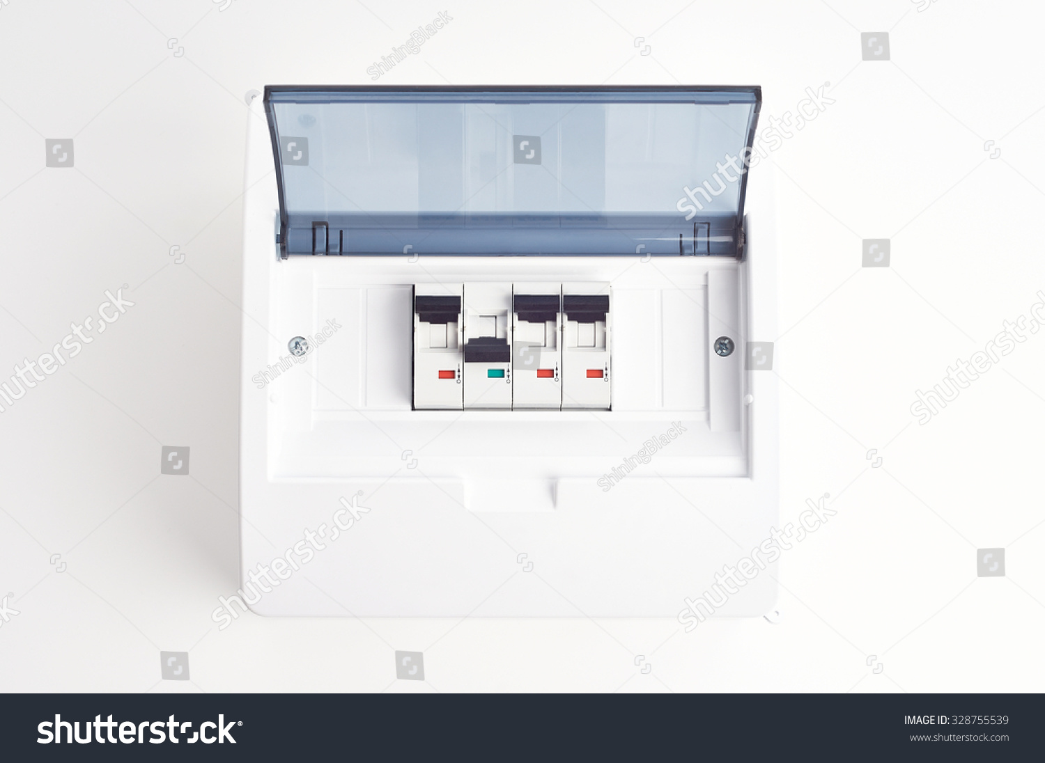 Small Electrical Fuse Box Custom Wiring Diagram Electric Home Automatic Fuses Closed Fusebox Stock Photo Edit Rh Shutterstock Com Types