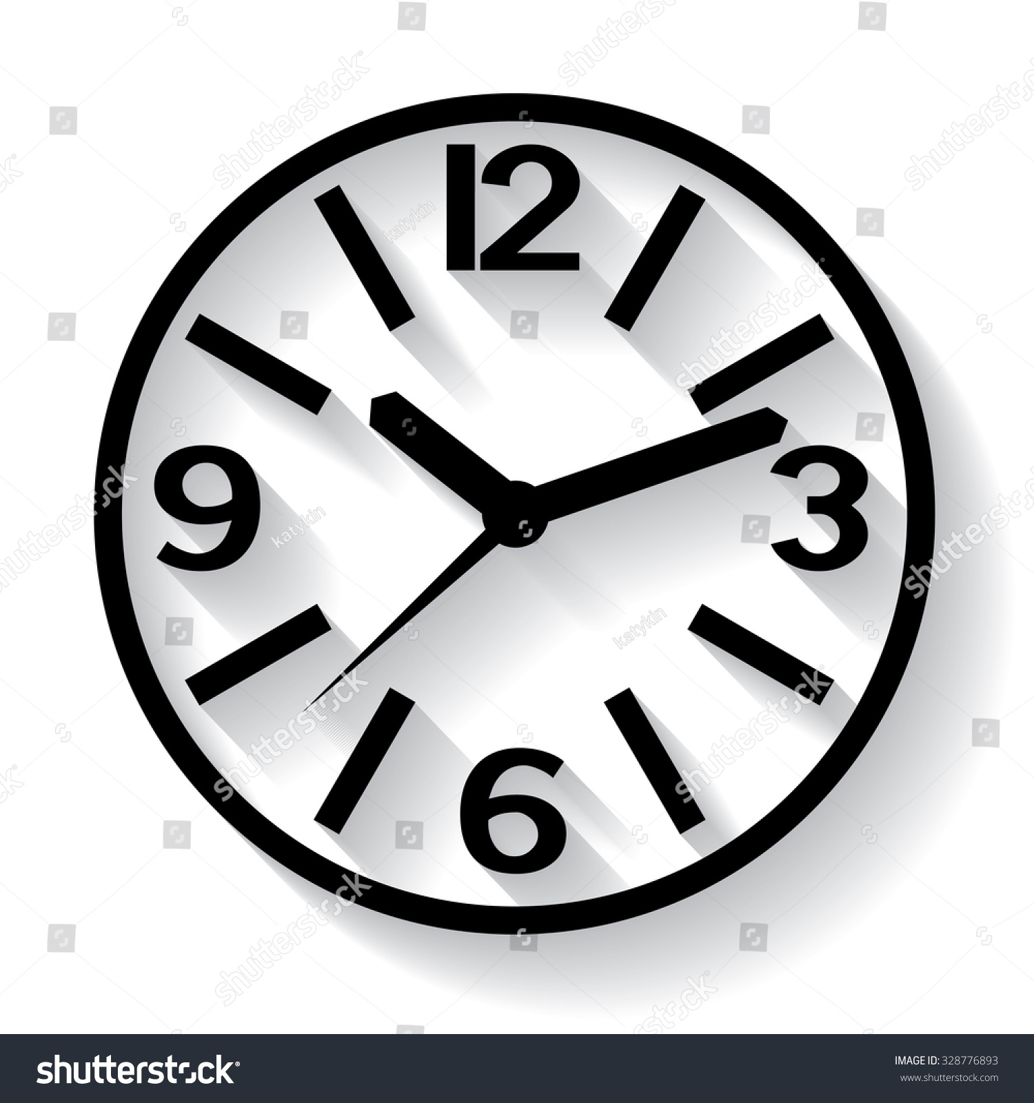 Wall mounted digital clock clock picture stock vector 328776893 wall mounted digital clock clock picture hours watch for wall mounting image amipublicfo Image collections