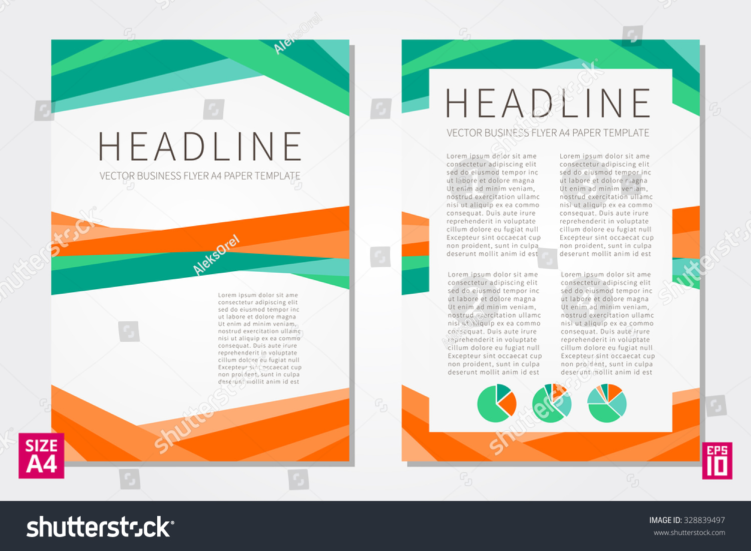 vector flyer poster leaflet annual report stock vector 328839497 vector flyer poster leaflet annual report design template sample text layout