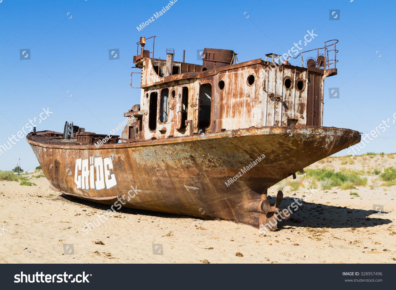 Ship graveyards