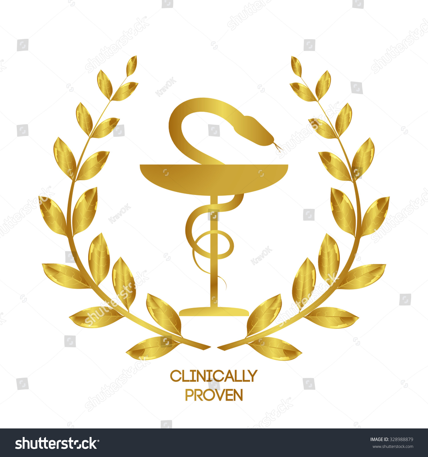 Clinically proven pharmacy icon caduceus symbol stock vector clinically proven pharmacy icon caduceus symbol bowl with a snake medicine symbol biocorpaavc