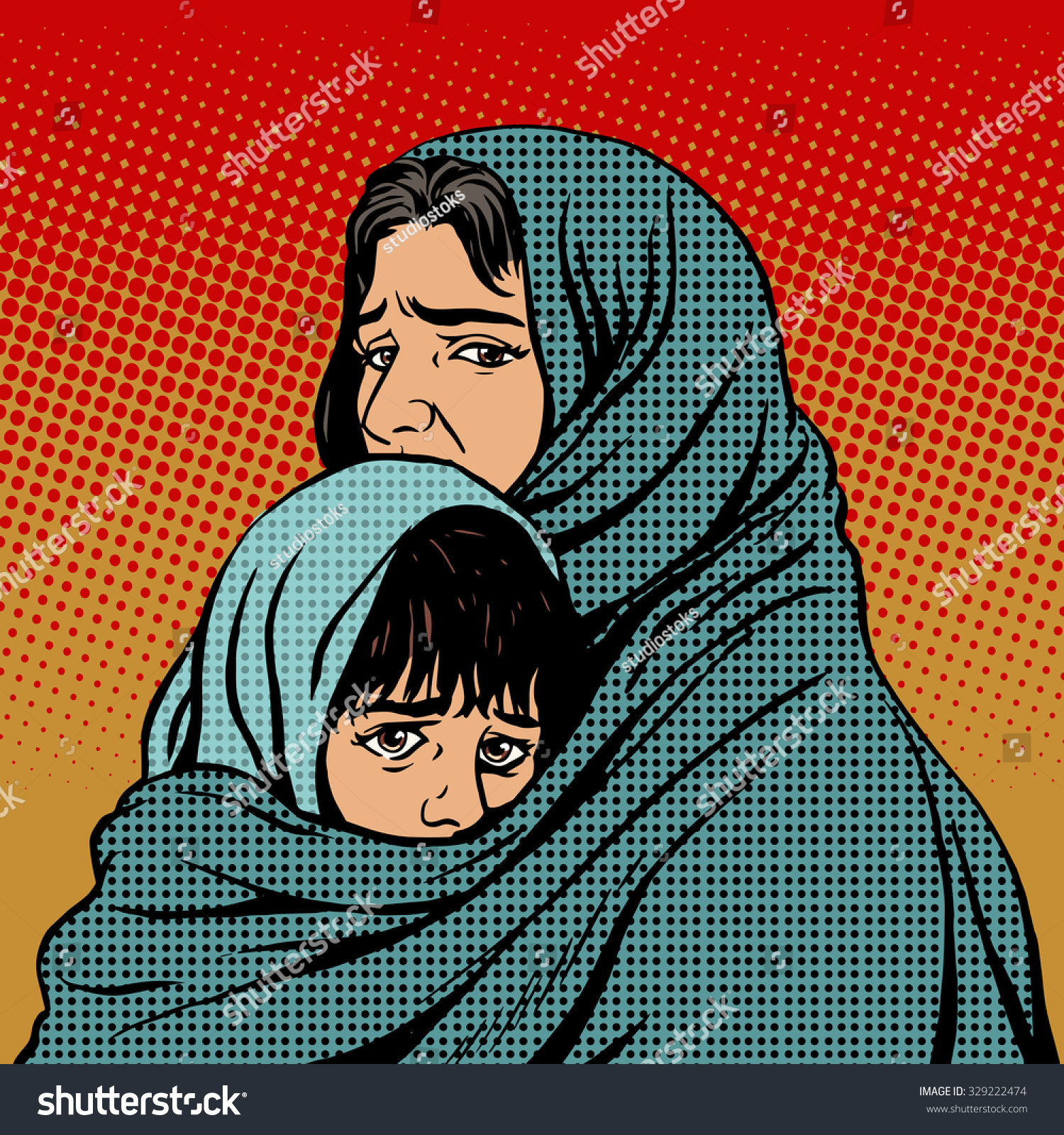 refugee mother and child essay