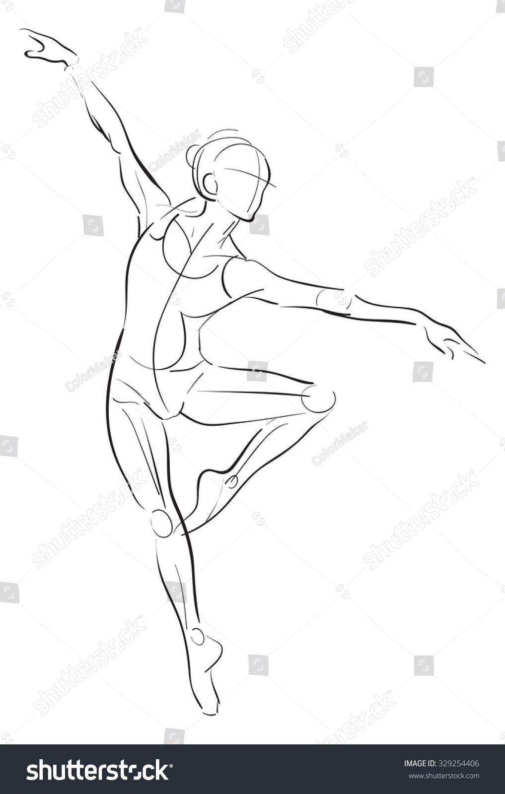 Free Hand Digital Tablet Drawing Illustration Stock Illustration