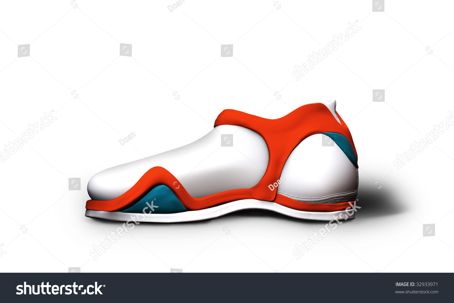 sport shoe design 7 stock photo 32933971