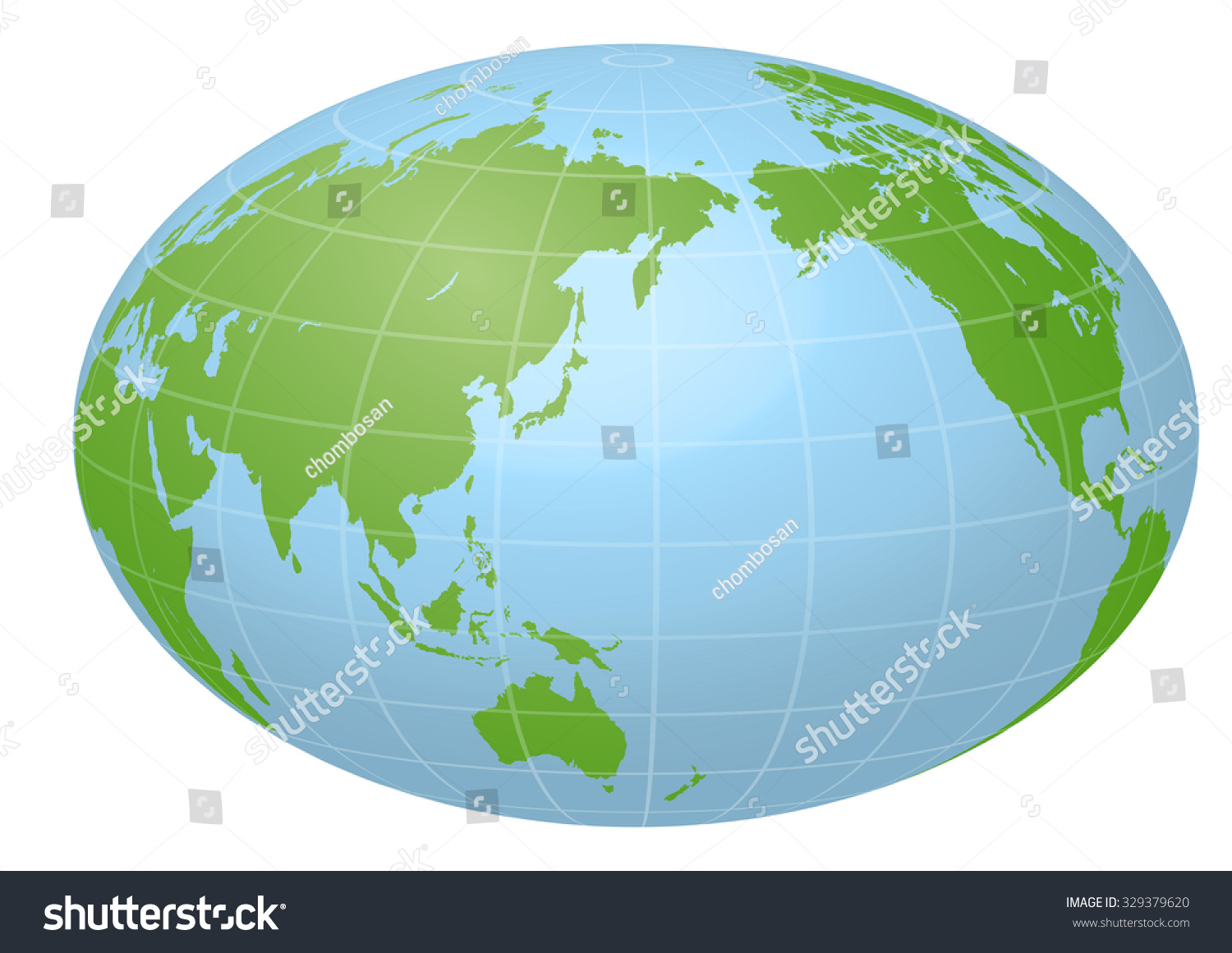 Pseudo Earth That Contains Whole World Stock Vector (Royalty Free ...