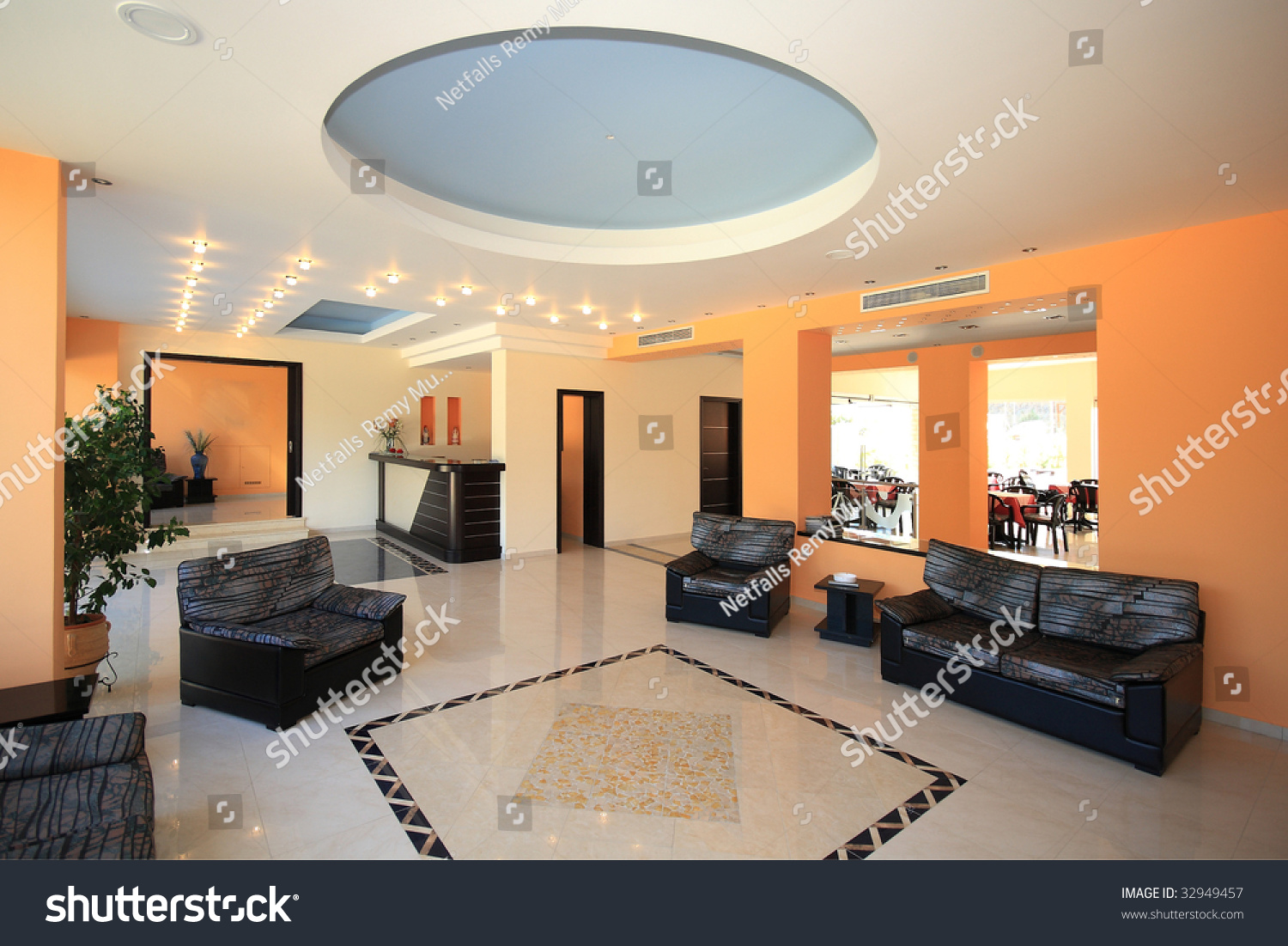 luxury hotel lobby reception area stock photo 32949457 shutterstock