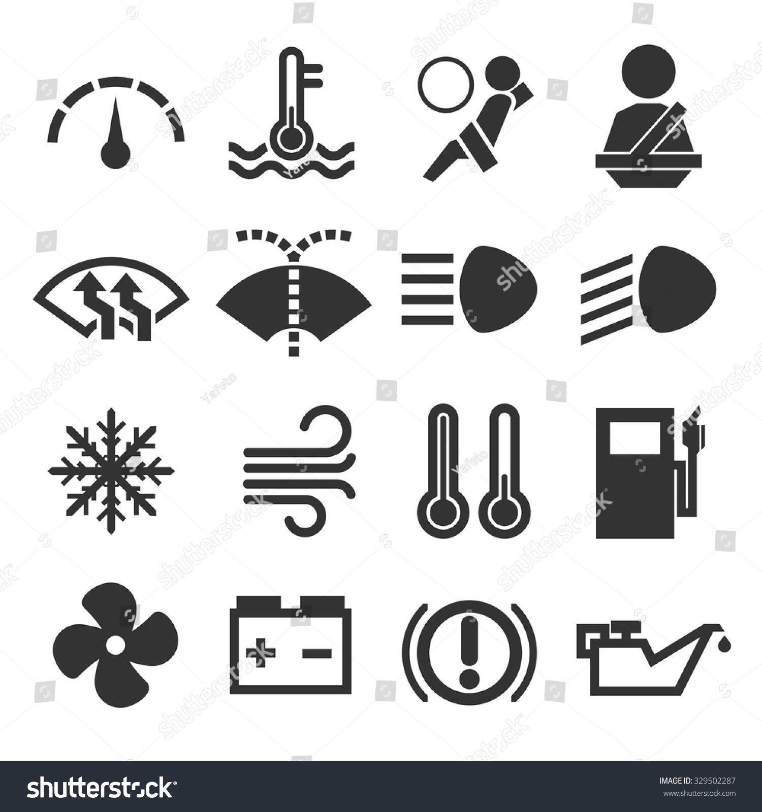 Car dashboard symbols icon set stock vector 329502287 shutterstock car dashboard symbols icon set biocorpaavc Images
