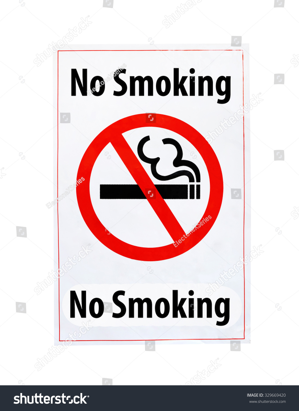 No smoking symbol text on white stock photo 329669420 shutterstock no smoking symbol and text on white background buycottarizona Images