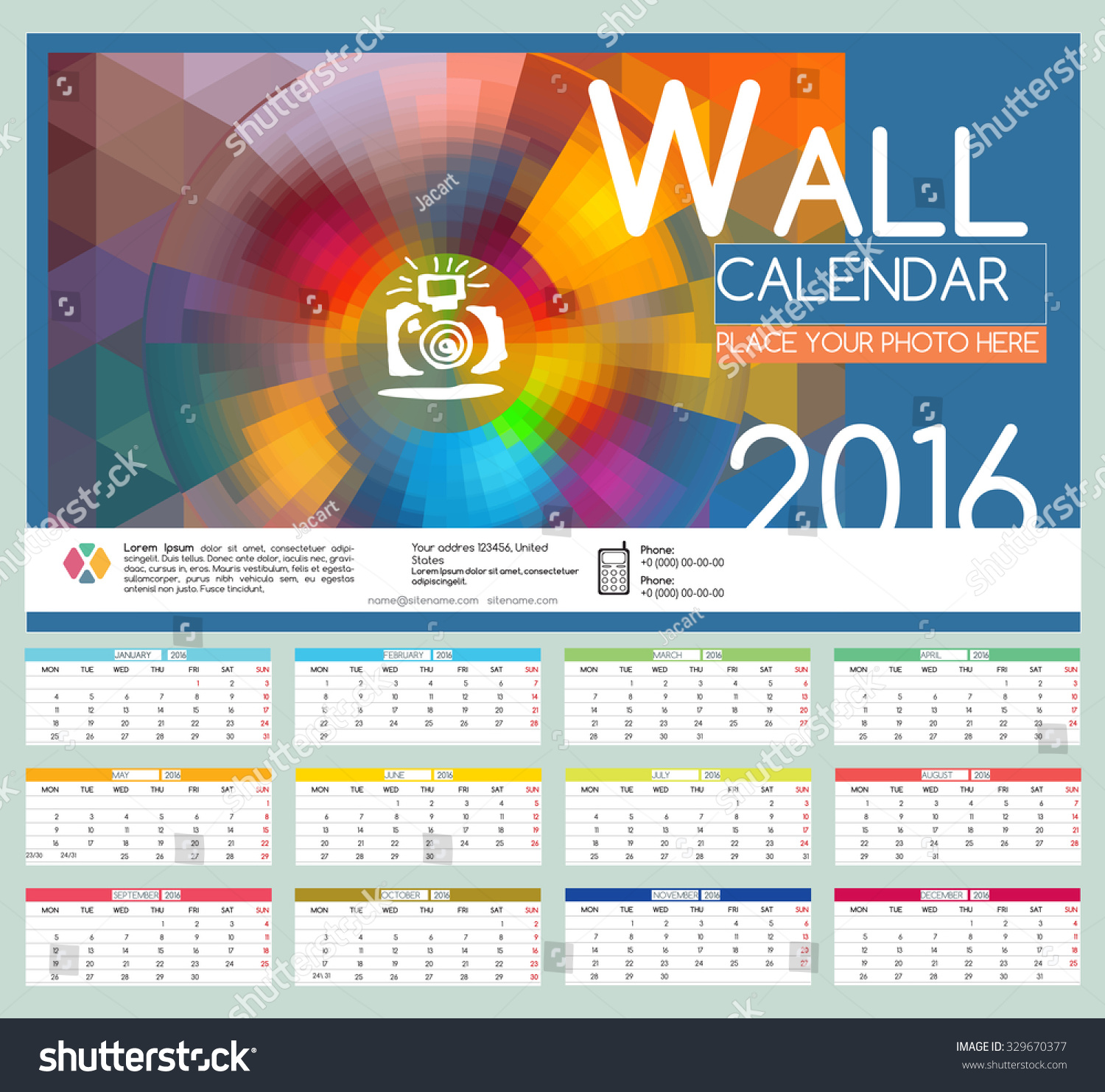 wall calendar design xmas. Black Bedroom Furniture Sets. Home Design Ideas
