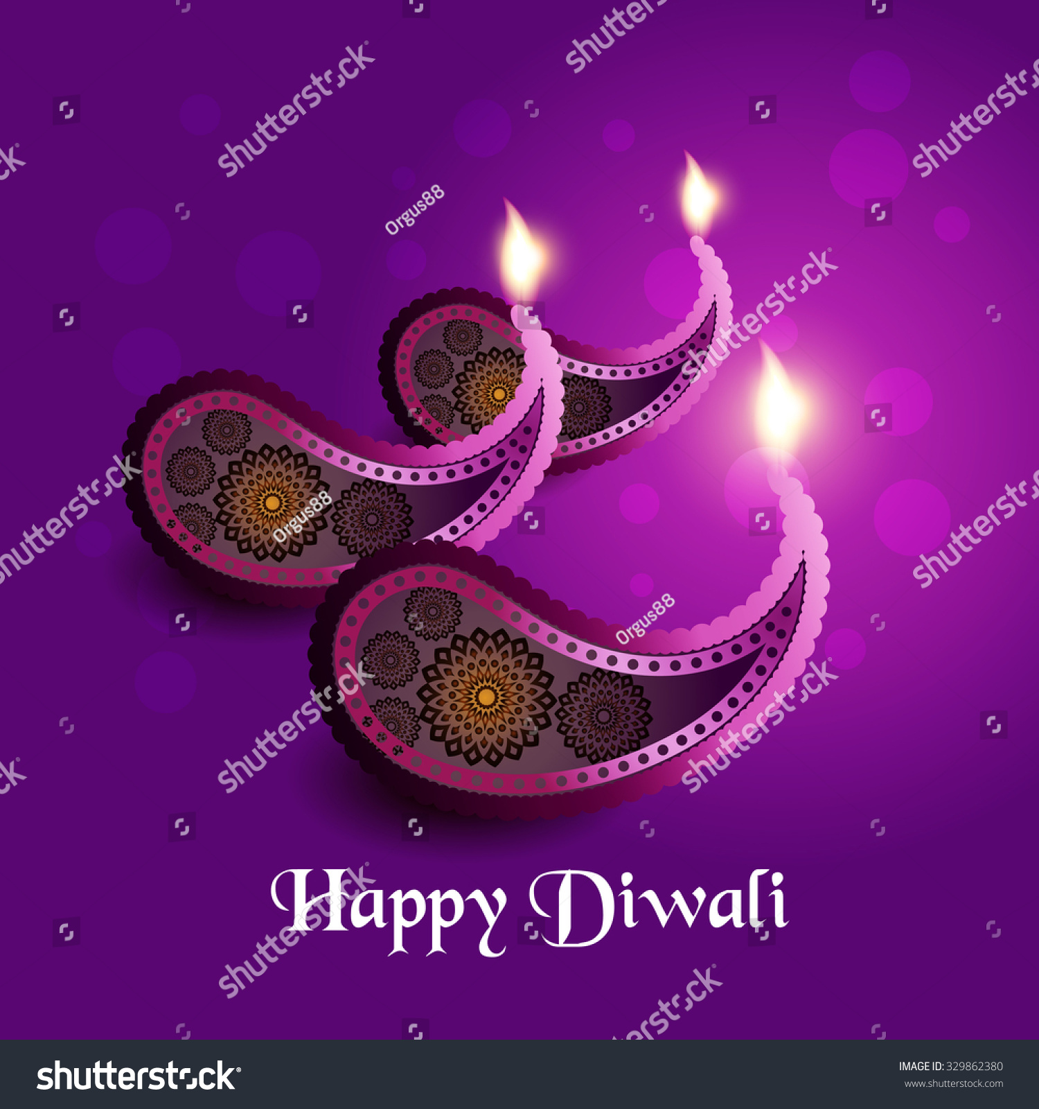 Royalty Free Beautiful Greeting Card For Hindu 329862380 Stock