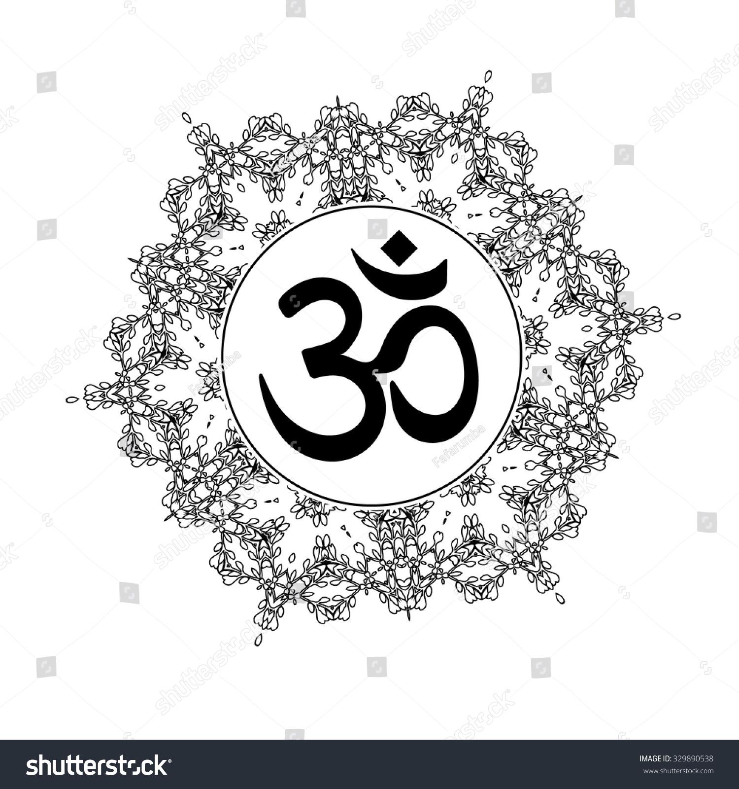 Yoga Symbols Tattoo
