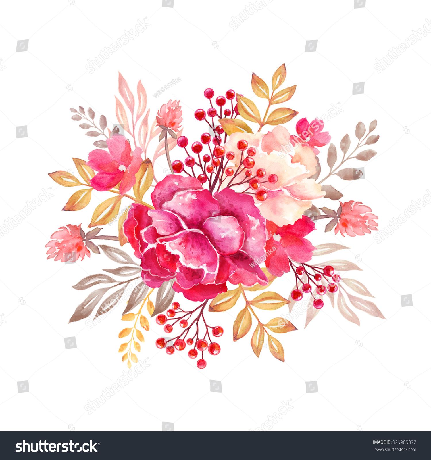 Floral arrangement clip art cliparts